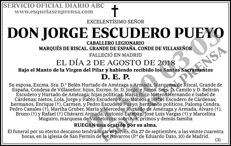 Jorge Escudero Pueyo